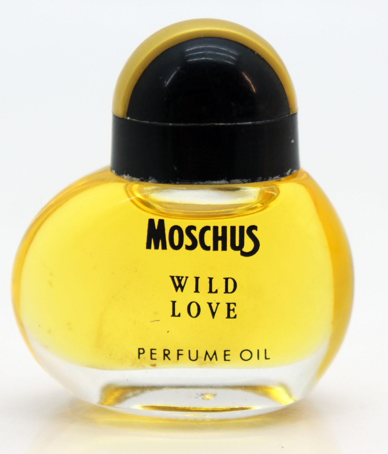 Nerval Parfumminiatur Moschus Wild Love Parfum Oil selten