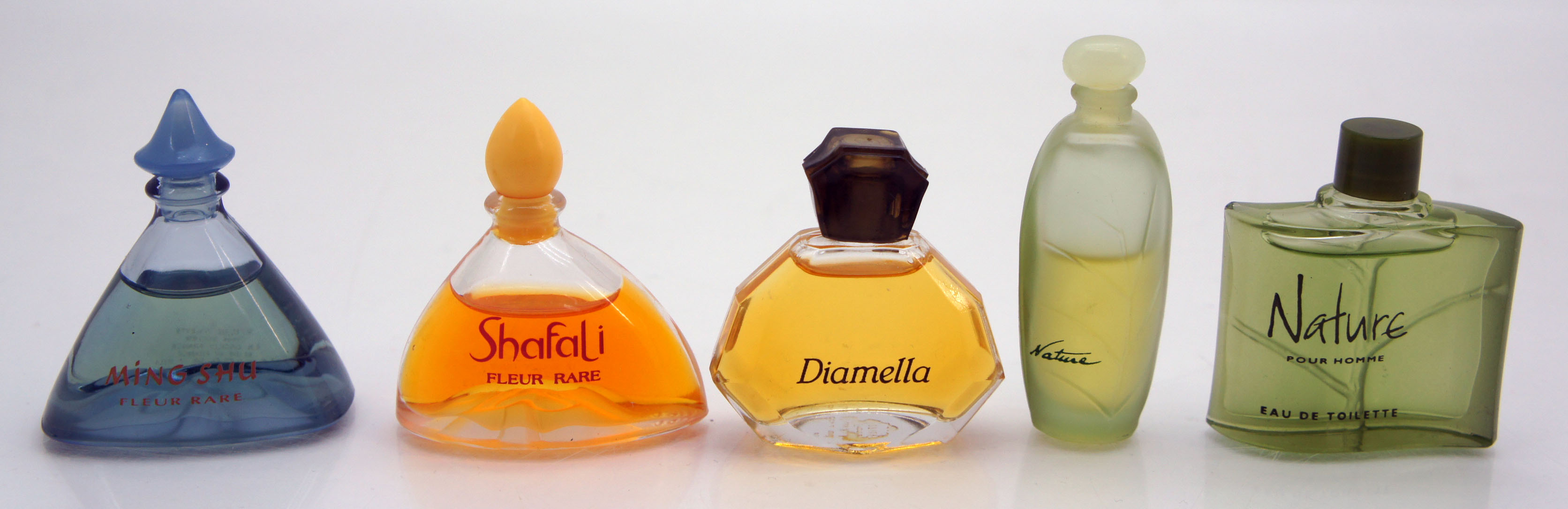 yves rocher 5 parfumminiaturen nature shafali diamella. Black Bedroom Furniture Sets. Home Design Ideas
