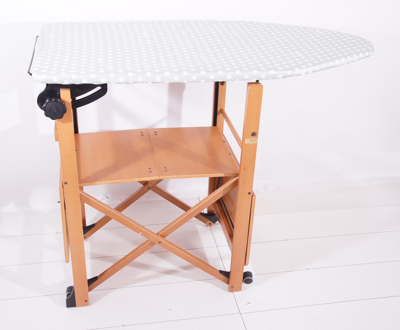 arredamenti italia b gelstation b gelbrett verstell ausklappbar holz mit ablagen ebay. Black Bedroom Furniture Sets. Home Design Ideas