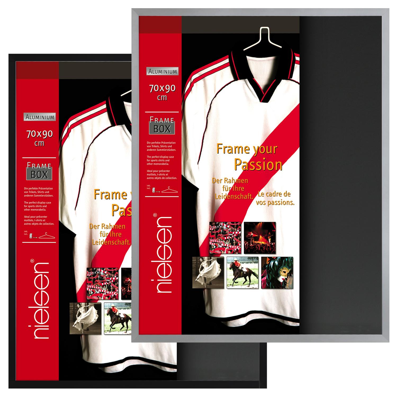 Nielsen Frame-Box Shirt Trikotrahmen Objektrahmen Rahmen Framebox 70 ...