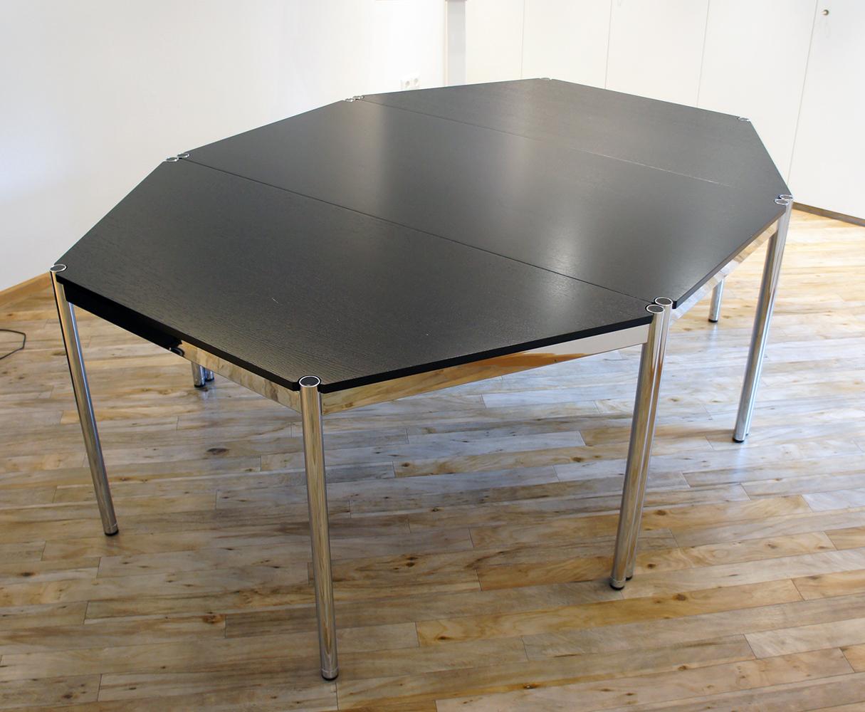 5 Eckiger Tisch.Usm Haller Tisch Konferenztisch 3 Tlg 8 Eckig Tisch