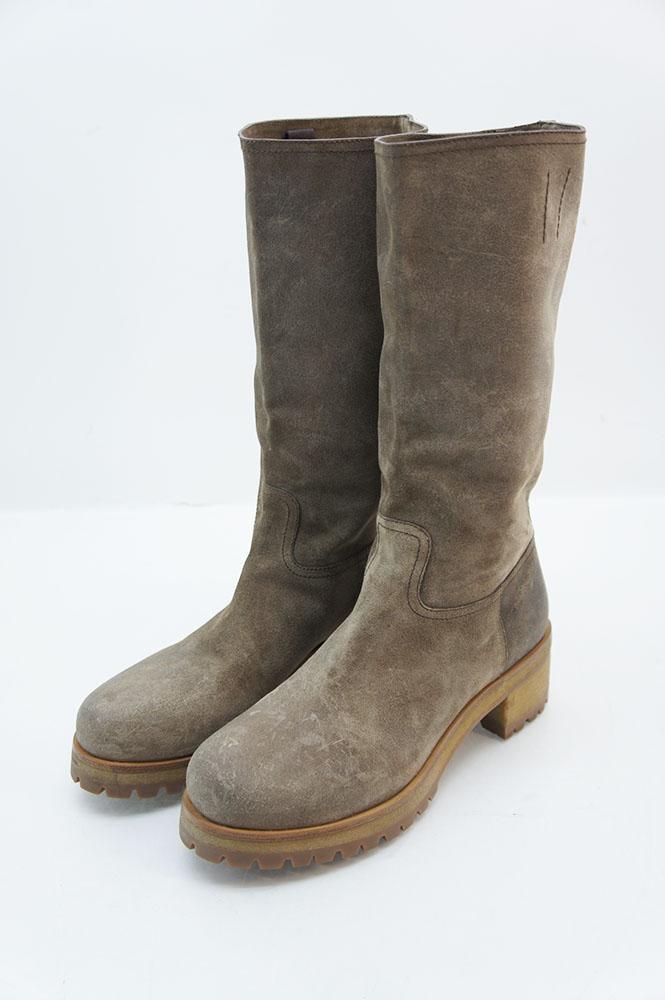 prada linea rossa damen boots stiefel schuhe wildleder. Black Bedroom Furniture Sets. Home Design Ideas