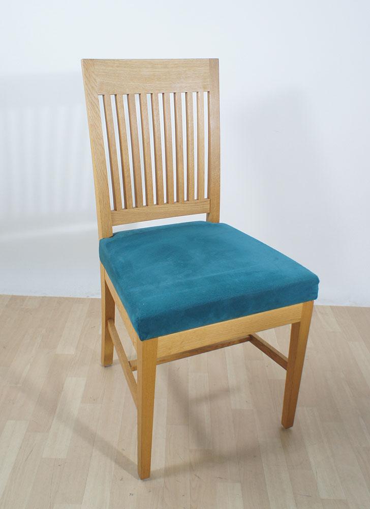 Stuhl holzstuhl skandinavisch design holz alcantara t rkis uvp 999 ebay - Stuhl skandinavisch ...
