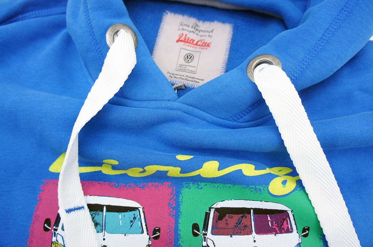 VAN-ONE-Classic-Cars-Original-VW-Bulli-Hoodie-Kapuzenpullover-T1-T2-T3-T4-Herren