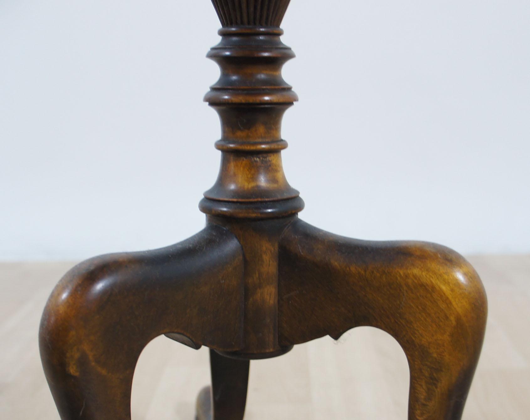 rauchertisch beistelltisch tisch holz dunkel 76 cm hoch ebay. Black Bedroom Furniture Sets. Home Design Ideas