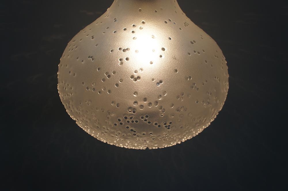 Plafoniere Per Van : 70er jahre peill putzler deckenlampe lampe leuchte glas space age Ø