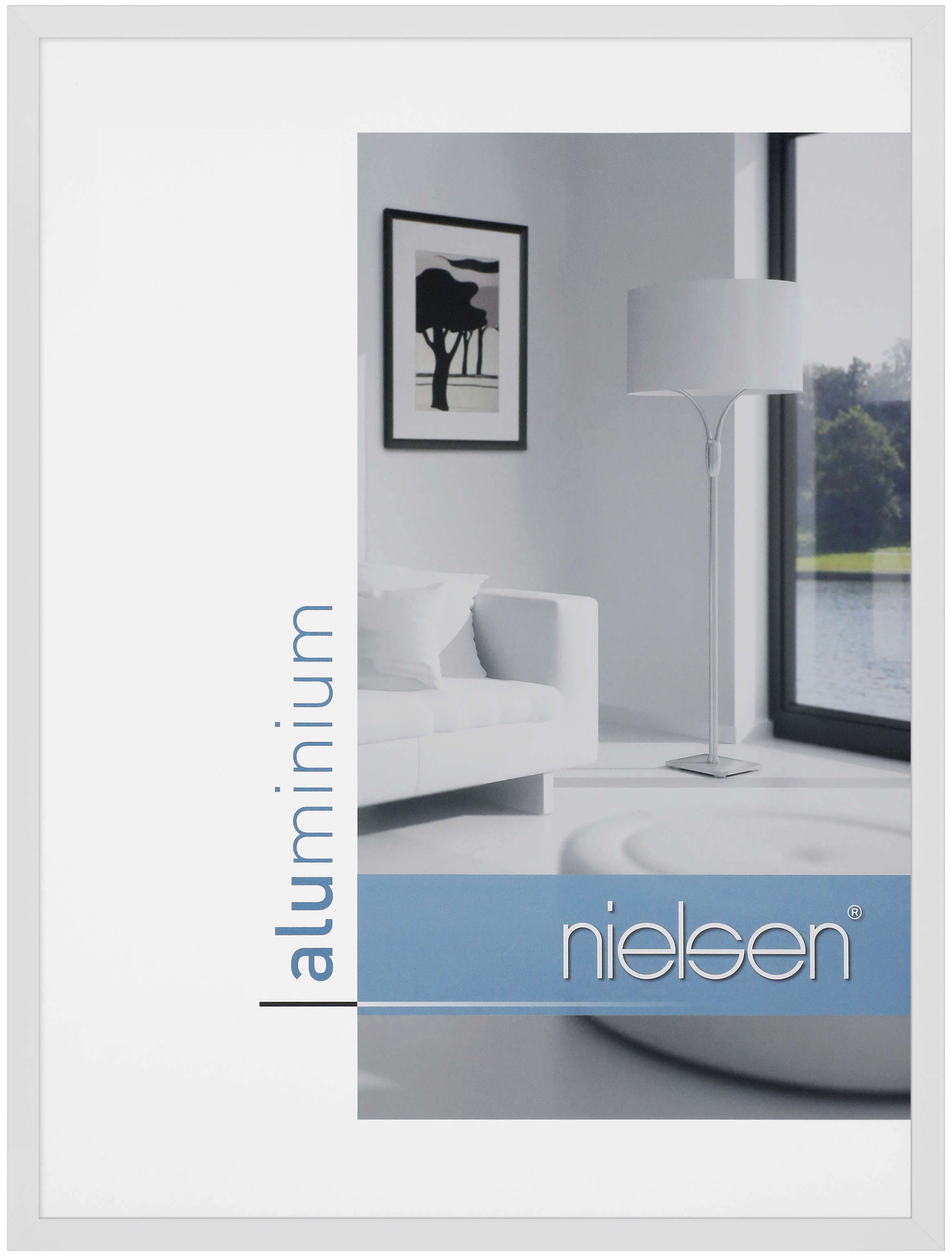 nielsen c2 aluminium rahmen bilderrahmen alurahmen. Black Bedroom Furniture Sets. Home Design Ideas