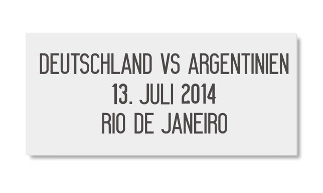Match-Details-Flock-Print-DFB-Deutschland-vs-Argentinien-Brasilien-WM-2014