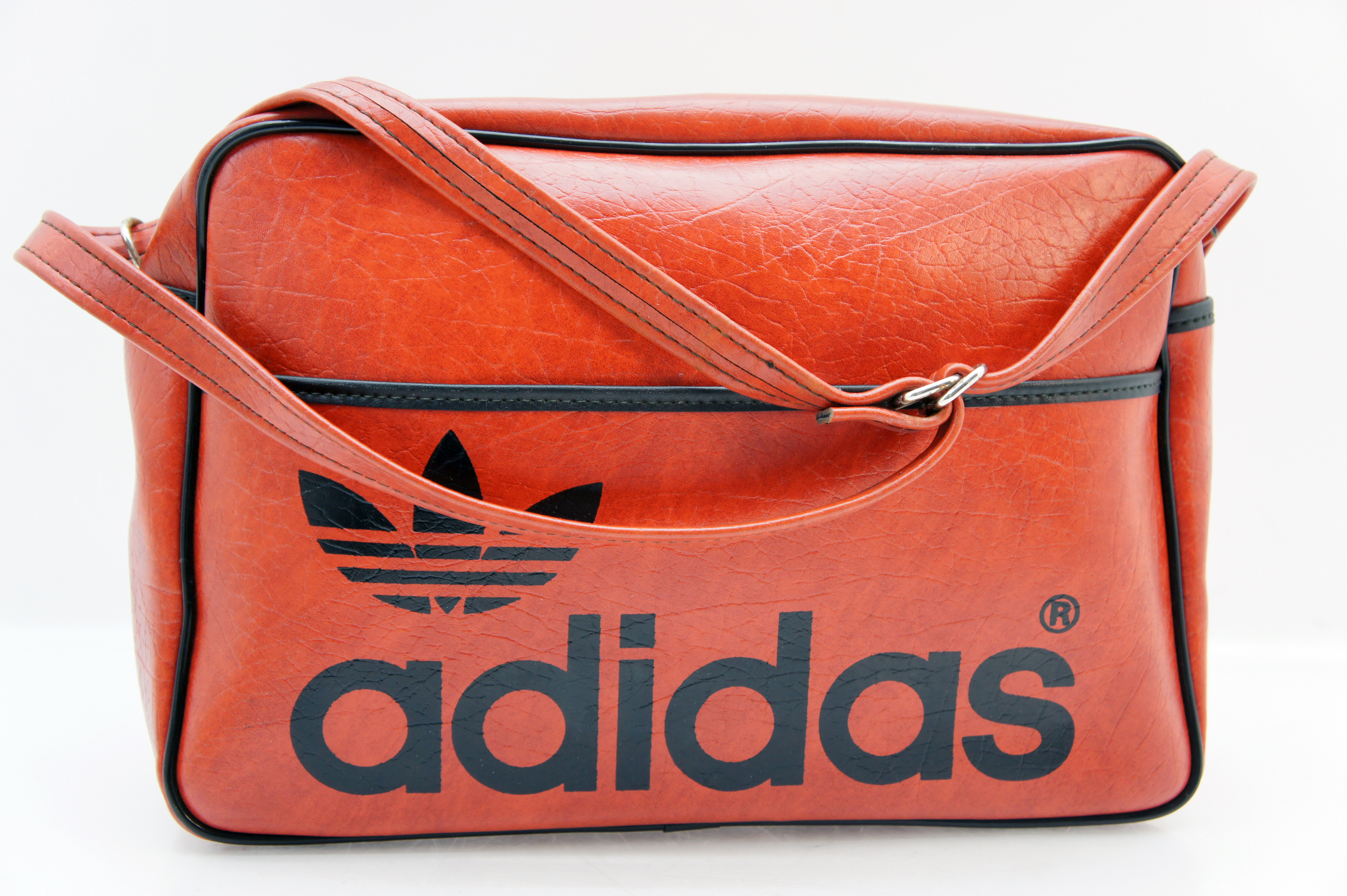 original 70er adidas tasche sporttasche oldschool vintage orange ebay. Black Bedroom Furniture Sets. Home Design Ideas