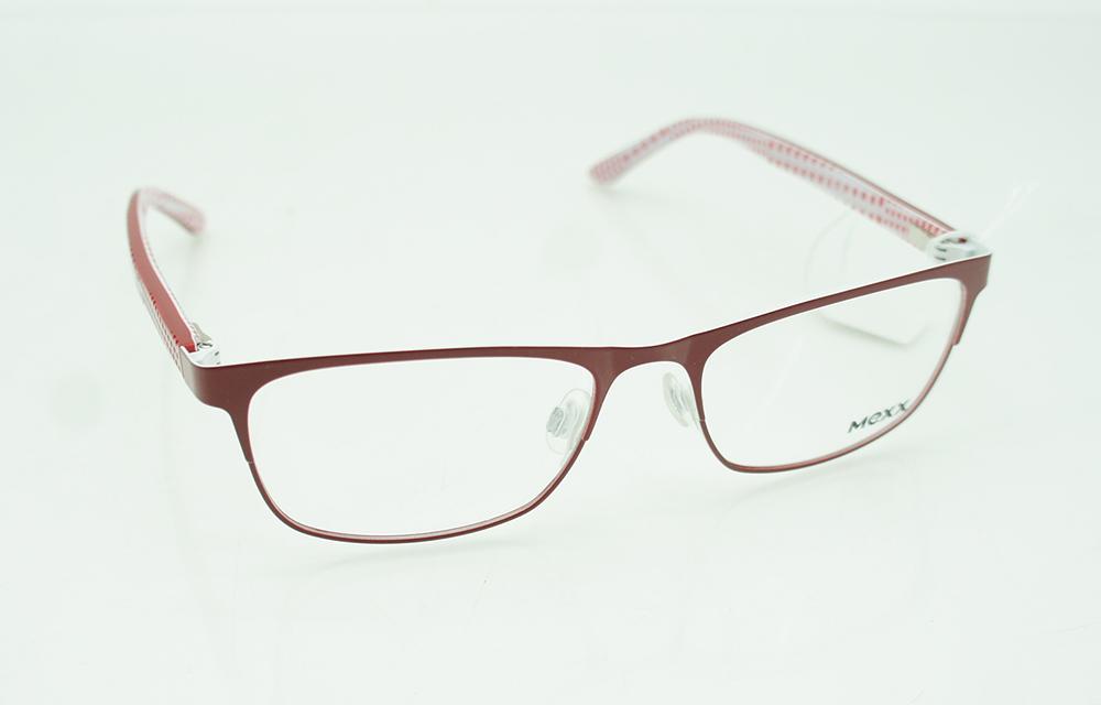 Mexx 5143 Brille Brillengestell dunkelrot 51/16/135 | eBay