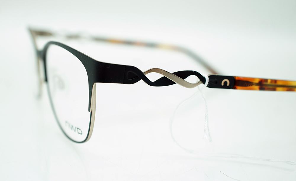 OWP 1402 Brille Damen Brillengestell braun rot 53/18/135 | eBay