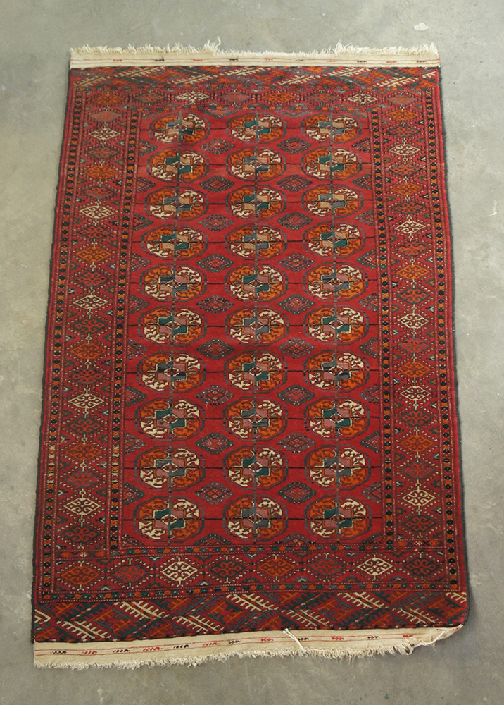 old russian bukhara kyrgyzstan russia carpet wool 158 x 103 cm ebay. Black Bedroom Furniture Sets. Home Design Ideas