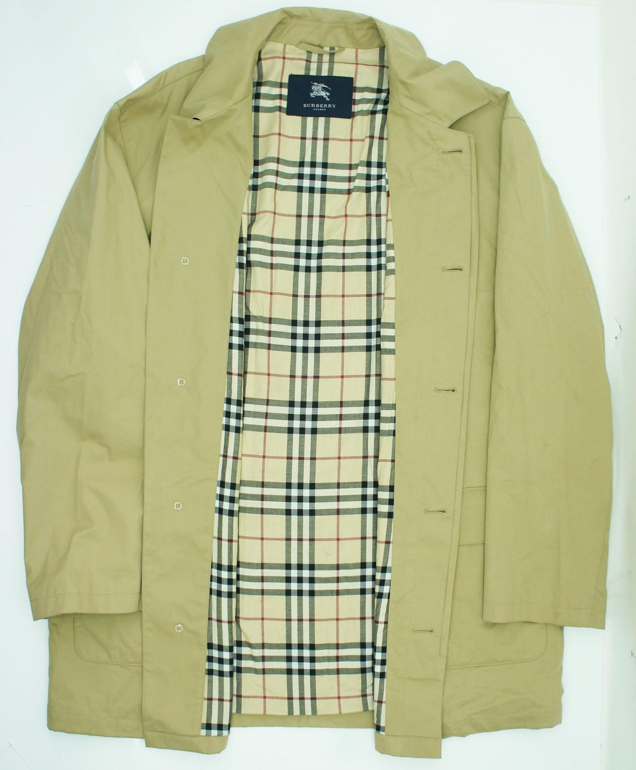 burberry herren trenchcoat mantel coat gr 56 beige. Black Bedroom Furniture Sets. Home Design Ideas