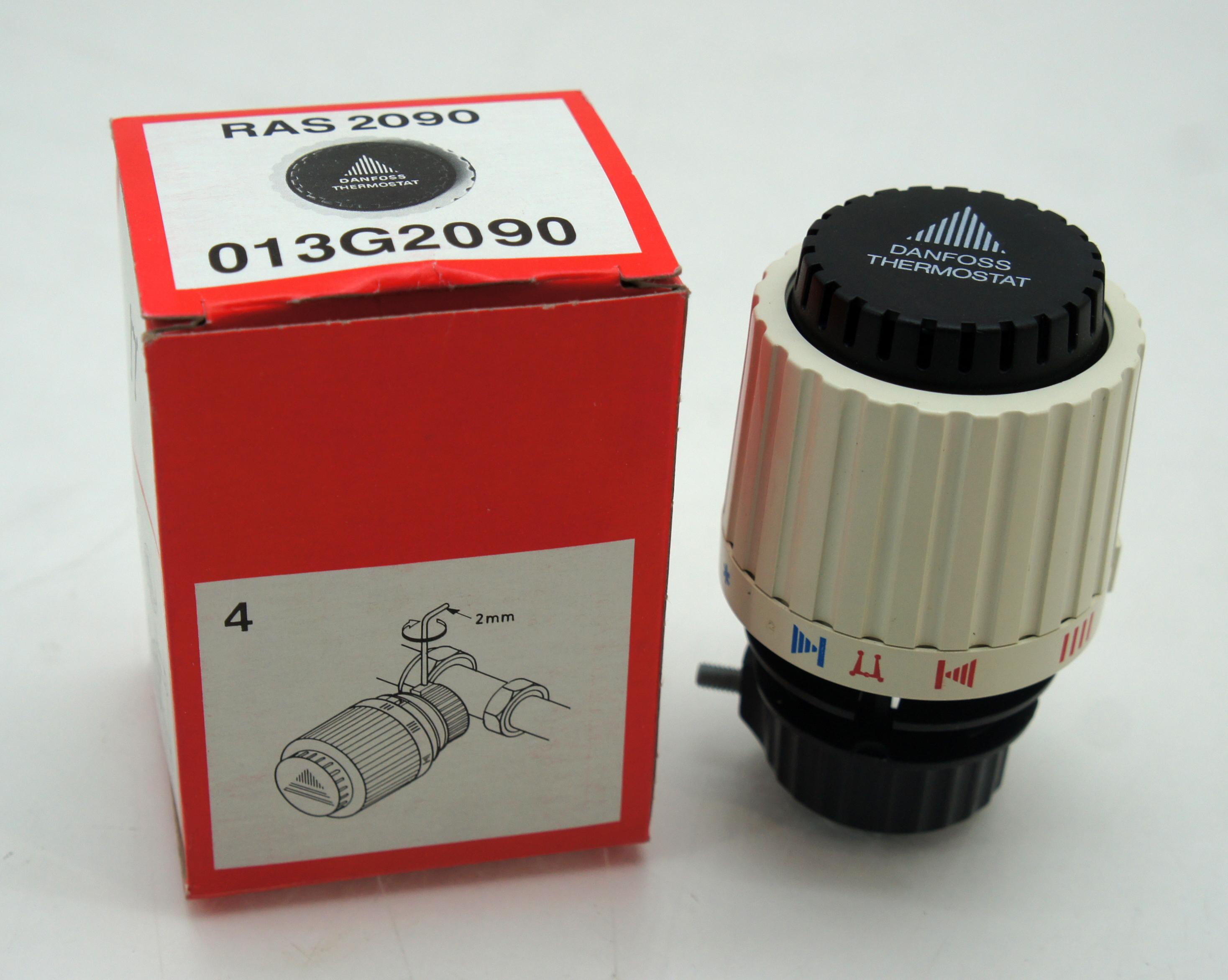 danfoss thermostatkopf 23 mm mit inbusschraube ras 2090 neu ovp ebay. Black Bedroom Furniture Sets. Home Design Ideas