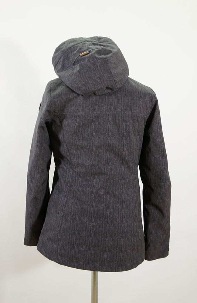 icepeak jacke damen winterjacke teresa grau gr 36 ebay. Black Bedroom Furniture Sets. Home Design Ideas
