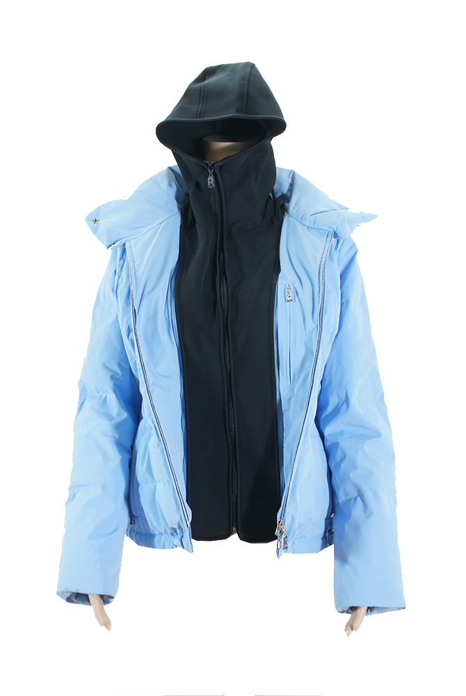 bogner damen ski winter jacke hellblau gr 38 ebay. Black Bedroom Furniture Sets. Home Design Ideas