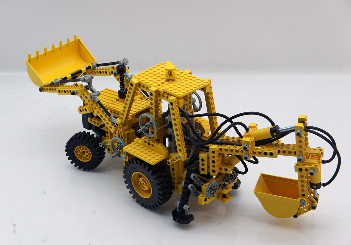 lego technic 8862 schaufelbagger mit pneumatic ebay. Black Bedroom Furniture Sets. Home Design Ideas