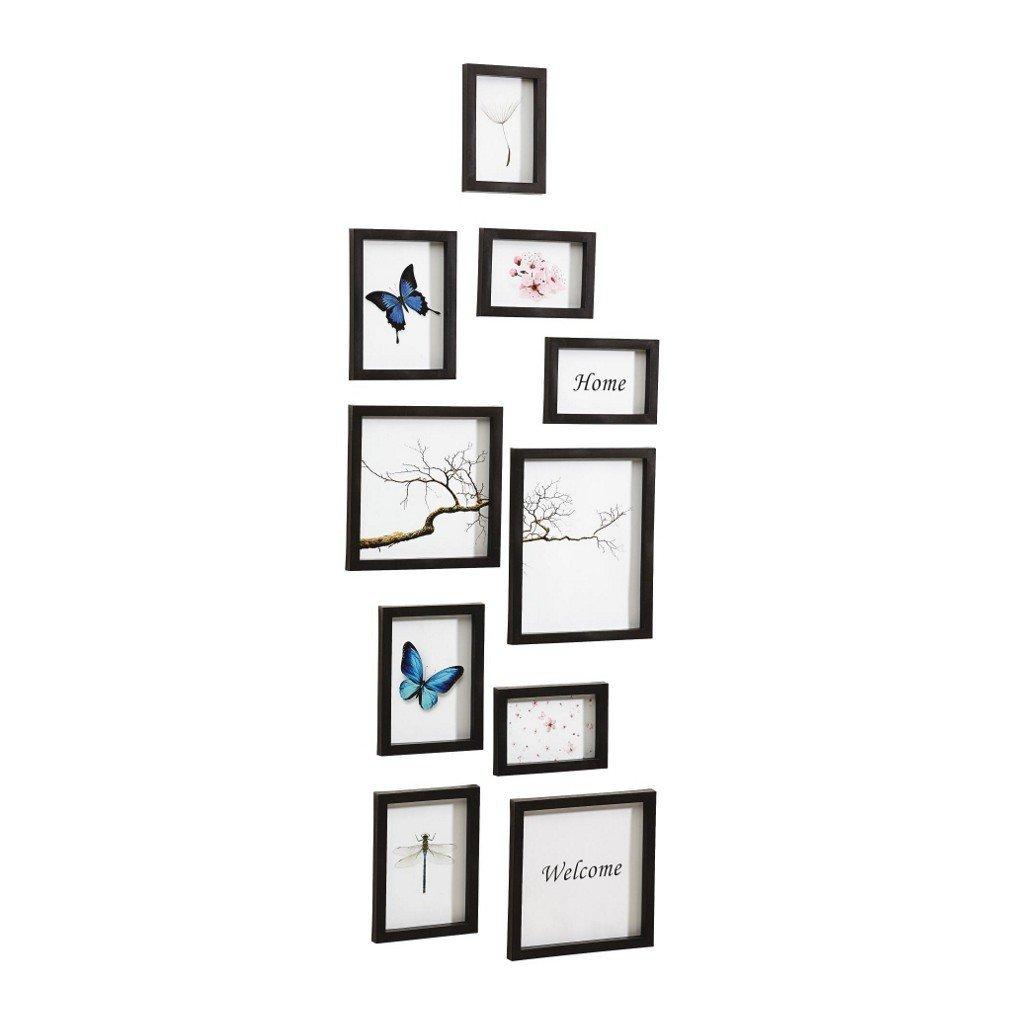 Nielsen Design 10er Set Bilderrahmen Kunststoff Wechselrahmen ...