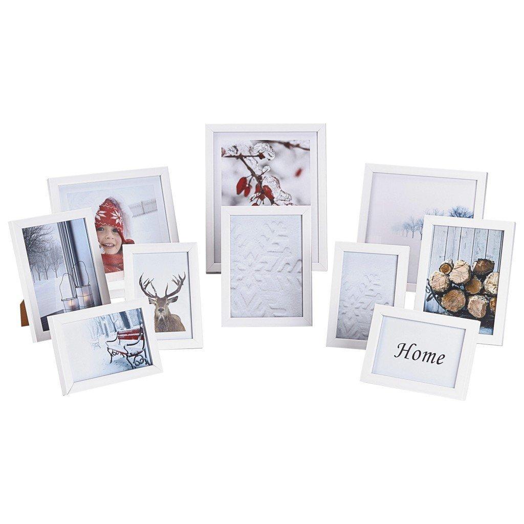 Nielsen-Design-10er-Set-Bilderrahmen-Kunststoff-Wechselrahmen-Kunststoff