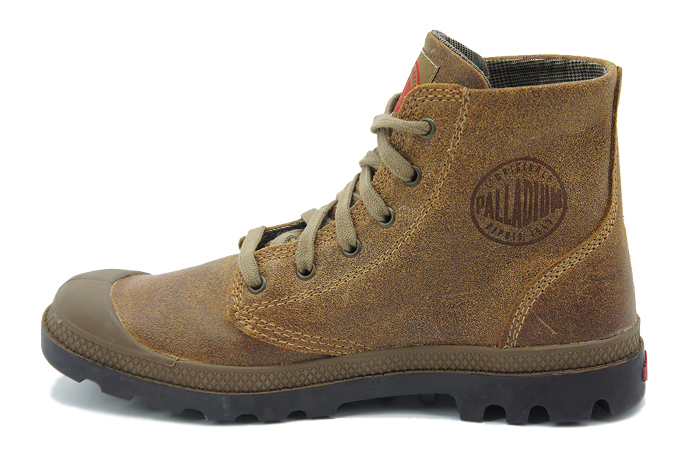 Palladium-Herren-Leder-Winter-Boots-Schuhe-Stiefel-Pampa-Baggy-Pallabrouse