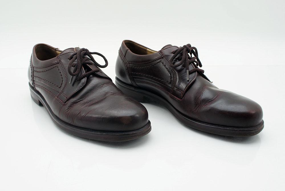 the latest db63f 3f450 Details zu Sioux herren Schuhe Herrenschuhe größe 42 UK 9 Leder Braun  Schnürschuhe