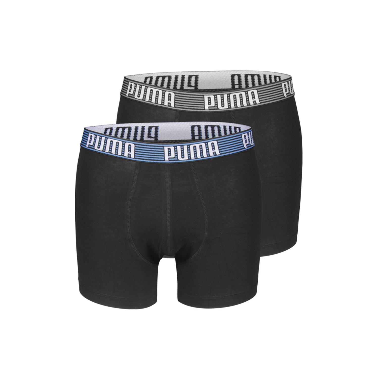 2er pack puma striped brand boxer short trunk boxershorts herren hose s m l xl ebay. Black Bedroom Furniture Sets. Home Design Ideas