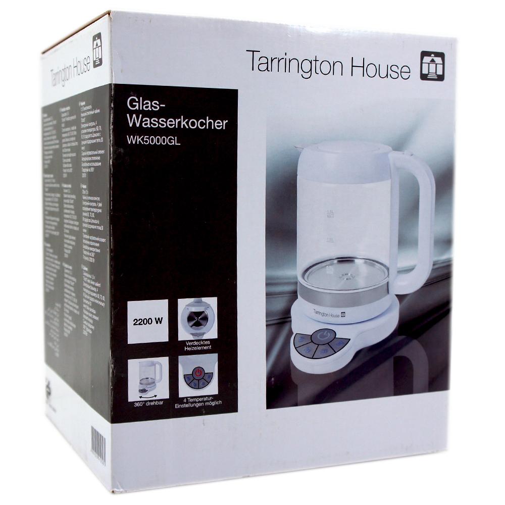 tarrington house glas wasserkocher wk5000gl wasserkocher. Black Bedroom Furniture Sets. Home Design Ideas