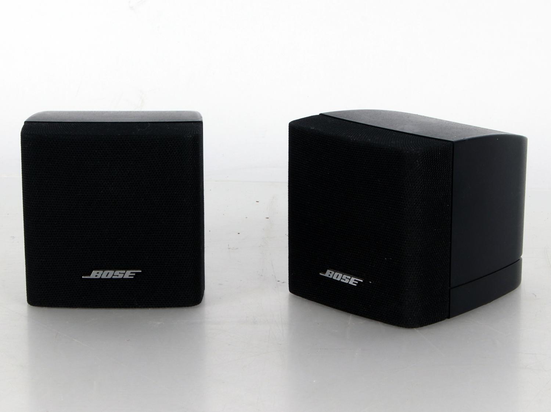 2x Bose single Cube Acoustimass Lautsprecher Satelliten