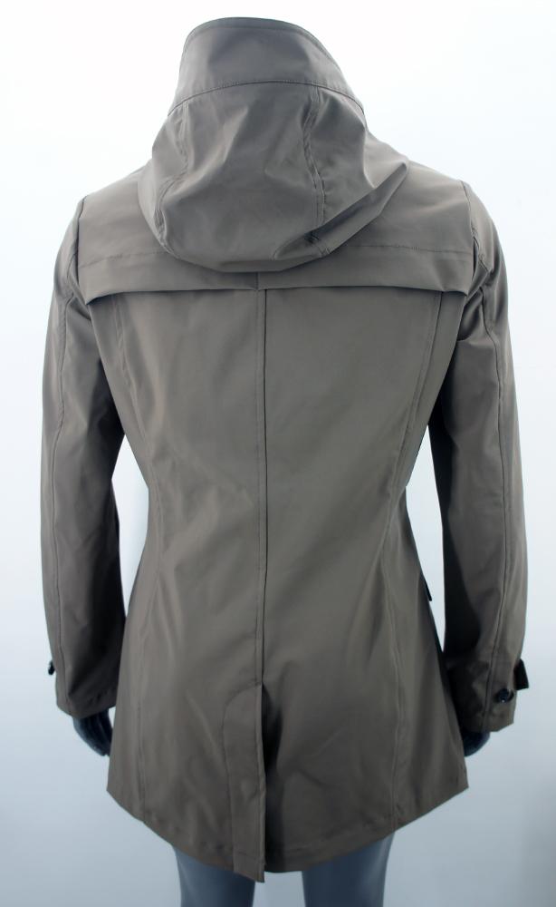 woolrich damen jacket parka jacke mantel dunkelbraun taupe. Black Bedroom Furniture Sets. Home Design Ideas