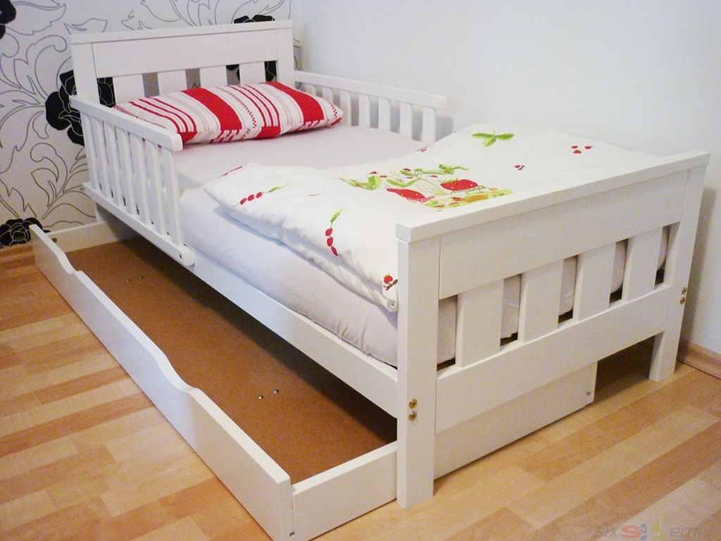 kinderbett junior bett ab ca 18 mon 140 x 70 cm kiefer. Black Bedroom Furniture Sets. Home Design Ideas