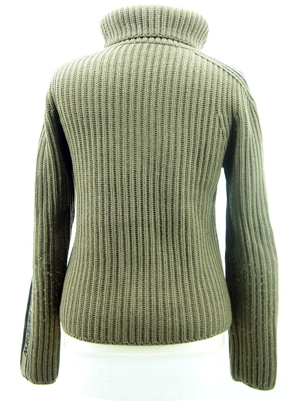 marccain damen pullover gr 2 oliv gr n ebay. Black Bedroom Furniture Sets. Home Design Ideas
