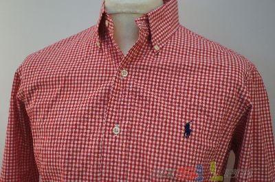 Ralph Lauren Hemd Rot Weiß Kariert