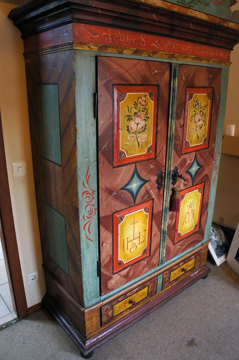 Antiker Bauernschrank Schrank Südtirol 1840 Möbel Antik | eBay