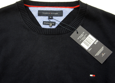 details about tommy hilfiger pacific th rundhals herren pullover shirt. Black Bedroom Furniture Sets. Home Design Ideas