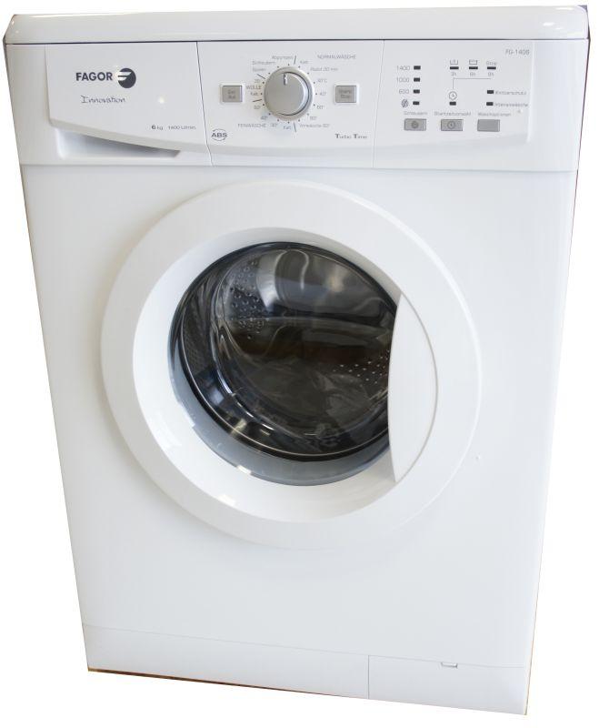 Fagor fg1406 waschautomat waschmaschine a 173 kwh jahr weiß 6kg neu