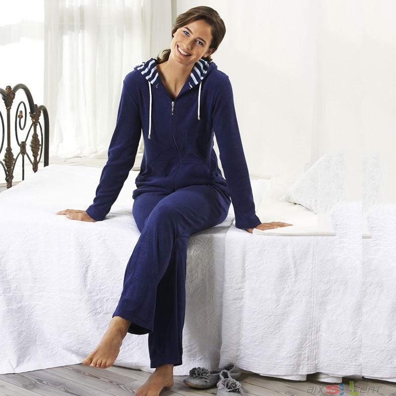 pelman frottee freizeitanzug damen 2 tlg gr 38 blau uvp 89 95 ebay. Black Bedroom Furniture Sets. Home Design Ideas