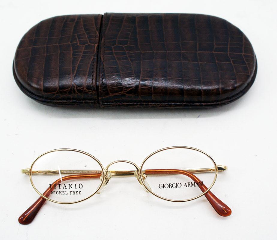 Giorgio Armani Titanium Nickelfrei Herren Brille Korrekturbrille ...