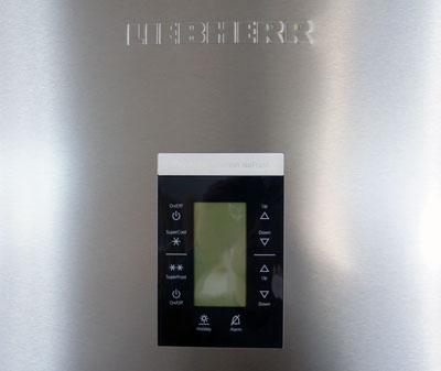 liebherr cbnpes 3956 20 stand k hlschrank gefrierkombination edelstahl ebay. Black Bedroom Furniture Sets. Home Design Ideas