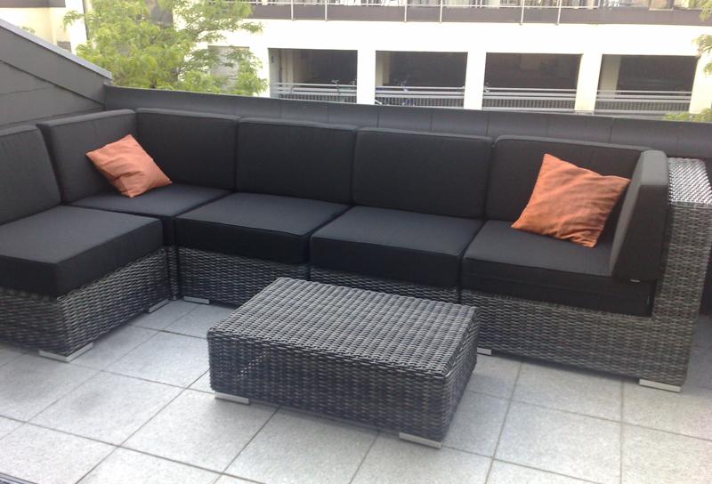 Lounge Gartenmoebel Polyrattan Haus Dekoration