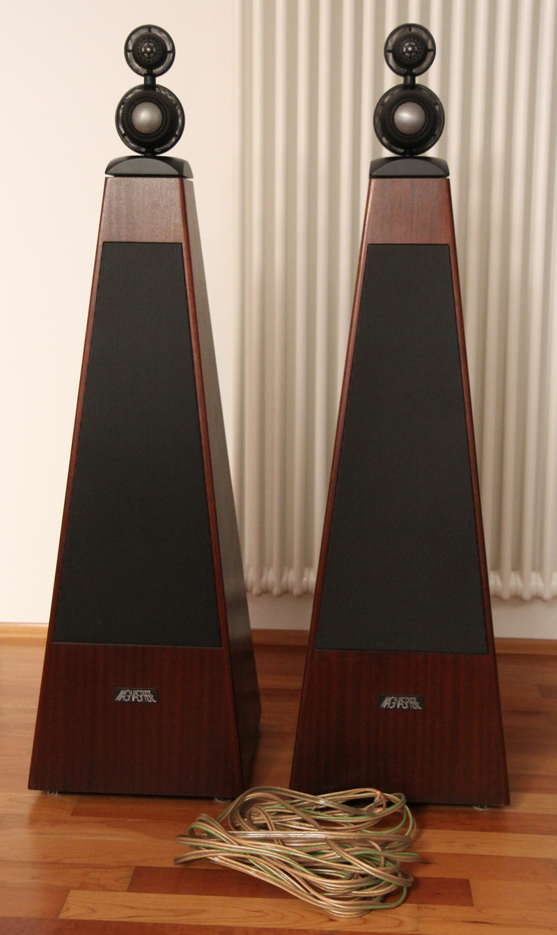 2 x lautsprecherboxen boxen magnat magnasphere gamma 170. Black Bedroom Furniture Sets. Home Design Ideas