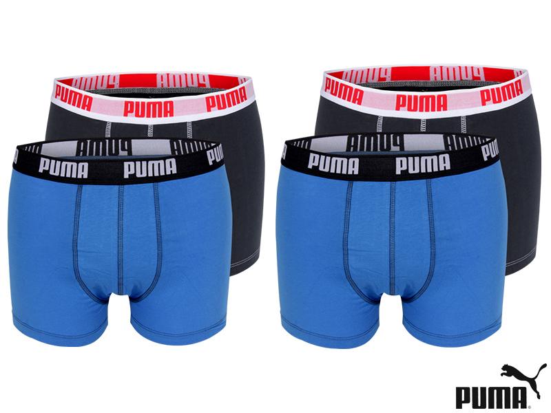 4er-Pack-PUMA-Basic-Boxer-Short-Trunk-Boxershorts-Herren-Unterhose-S-M-L-XL