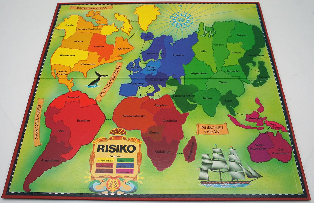 Risiko Spielbrett