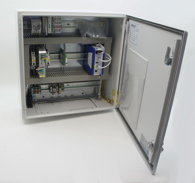 Rittal Schaltschrank Hirschmann Eagle20 Wago Ethernet Controller ...