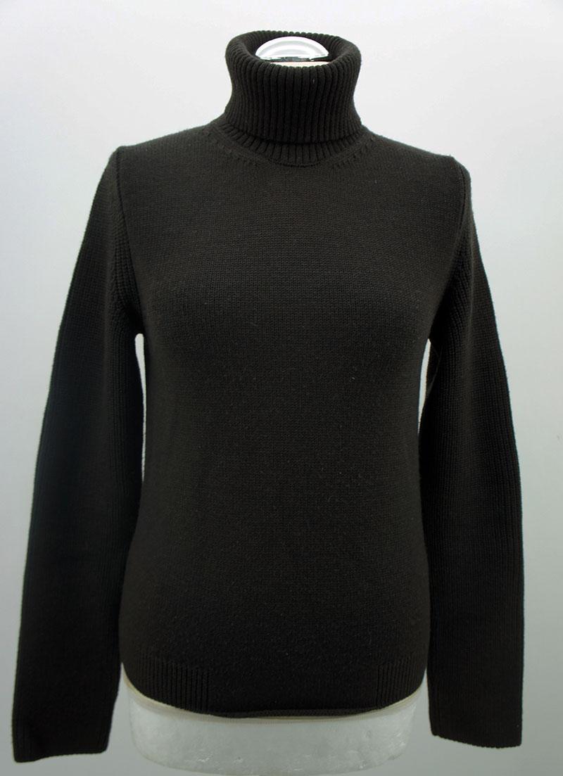 hugo hugo boss rollkragen pullover damen braun gr e m ebay. Black Bedroom Furniture Sets. Home Design Ideas