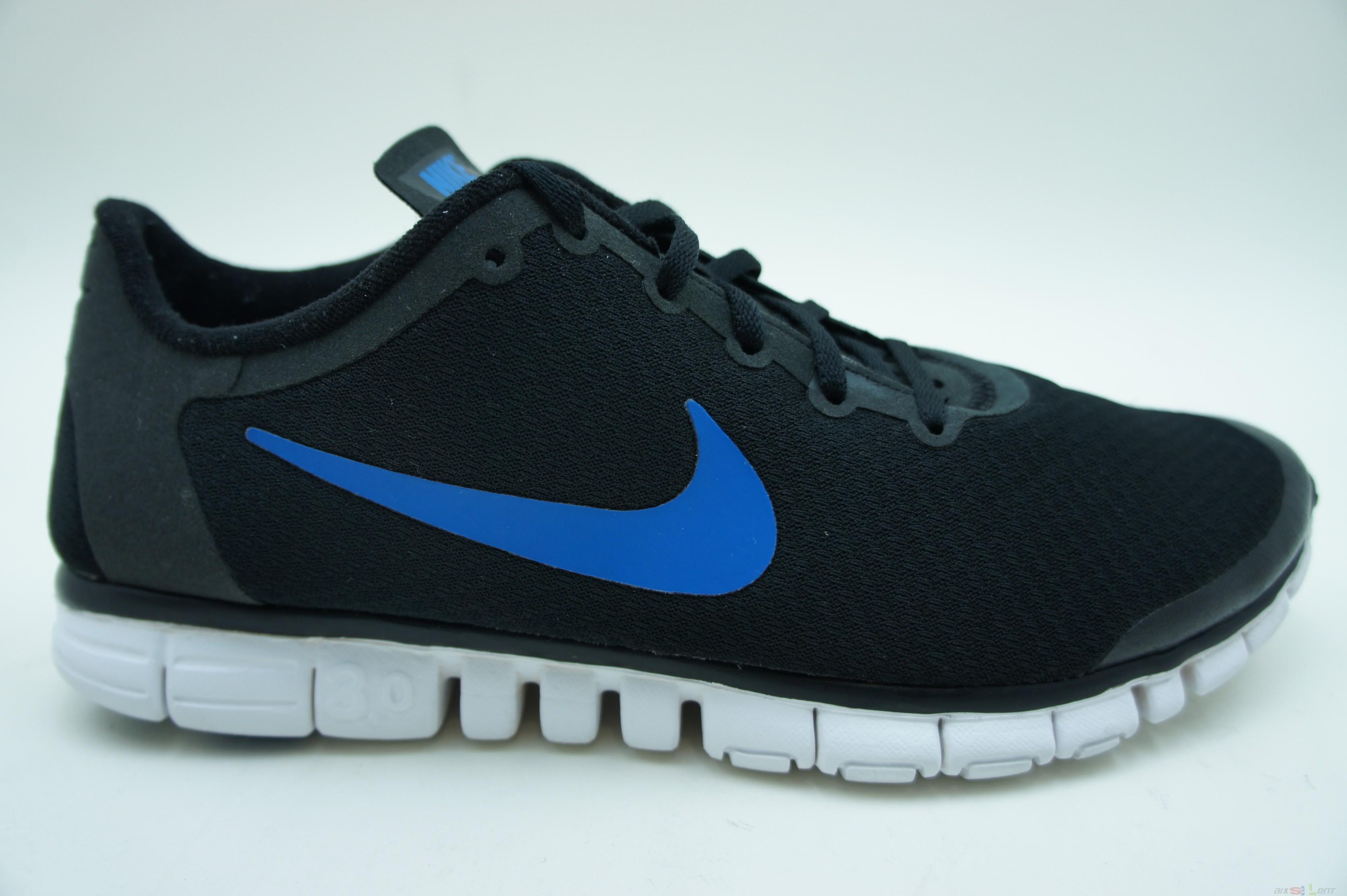Nike Free 3.0 Blau Schwarz