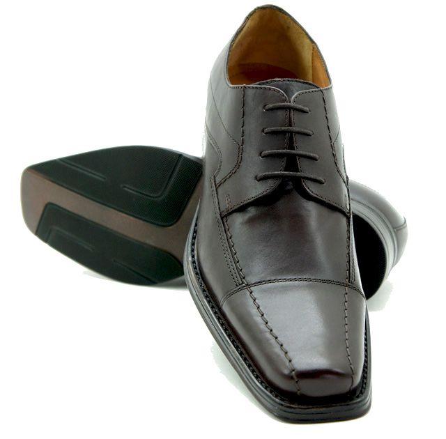 Business-Herren-Schuhe-Leder-Schuhe-schwarz-braun-VENUTI-UVP-149-95