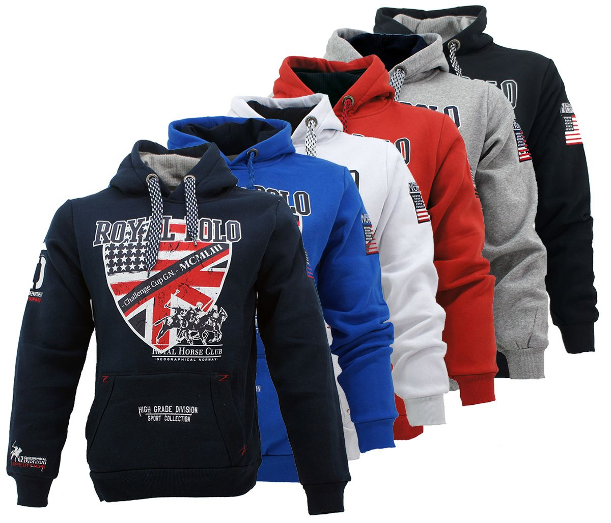 Geographical-Norway-Sweat-Shirt-Farwest-Hoodie-Kapuzen-Pullover-S-XXL-WOW