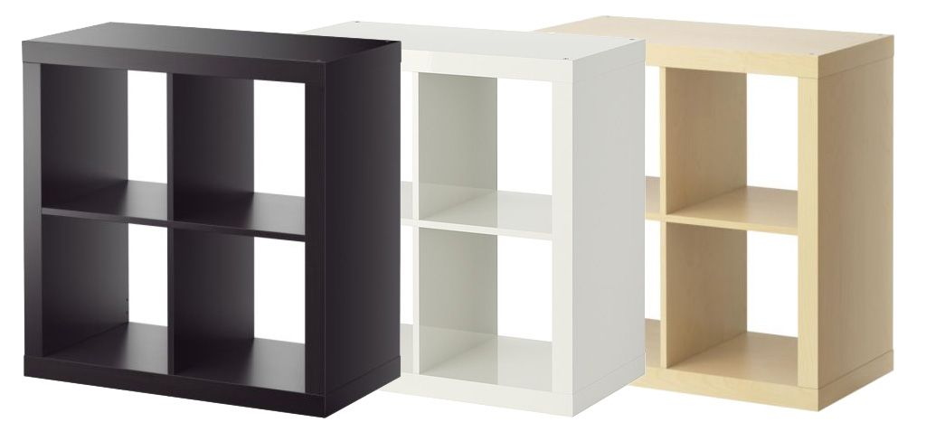 Wandregal würfel ikea  IKEA EXPEDIT REGAL 2x2 | 79 x 79 x 39 cm | oder Würfel 1x1 | 44 x ...