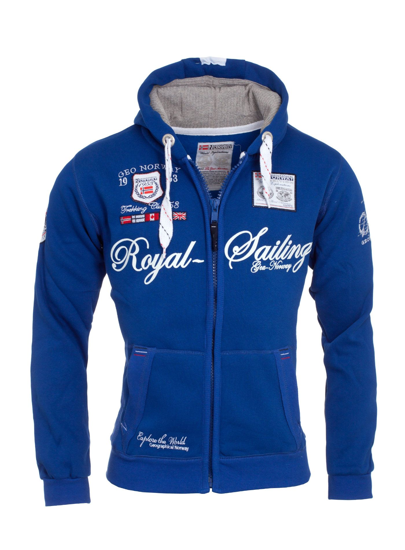 Geographical-Norway-Sweat-Jacke-Hoodie-Kapuzen-Jacke-Pullover-S-XXL-WOW