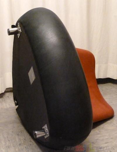 Leolux Pallone Designer Sessel schwarz/rot Design ...